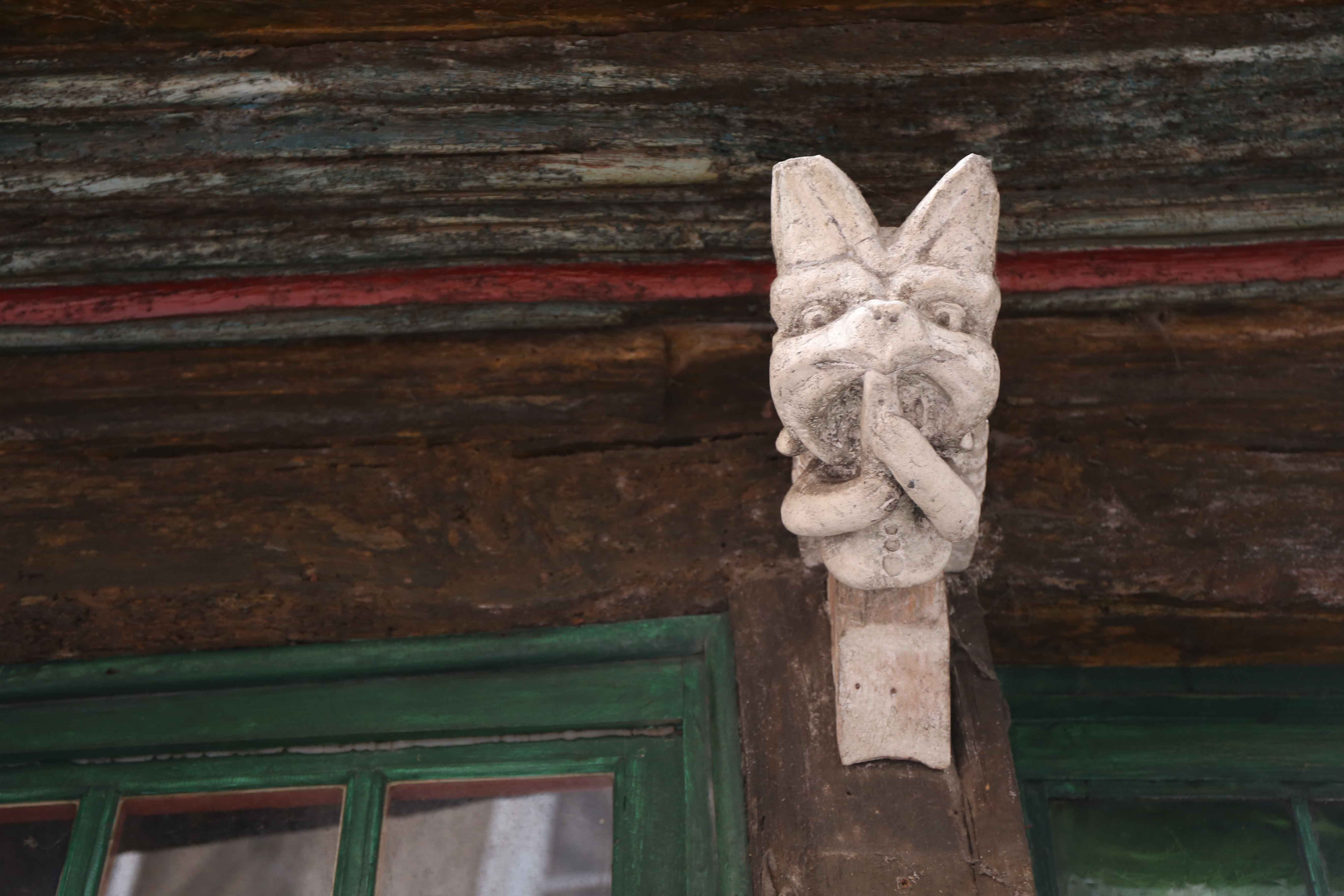 old house - detail