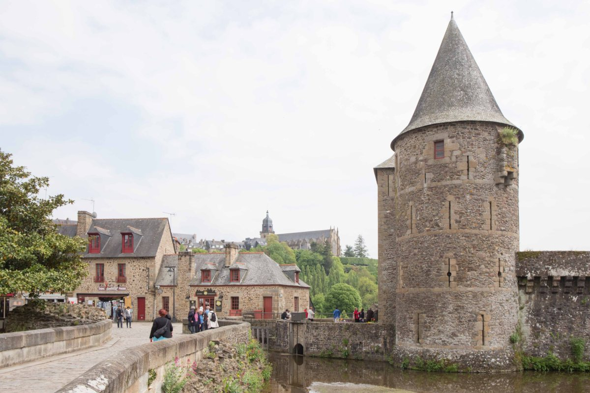 Fougères - the castle