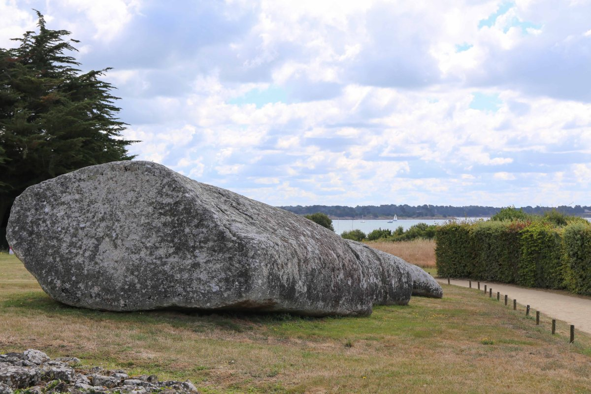 The megalith site of locmariaquer life in rennes - France pare brise rennes ...
