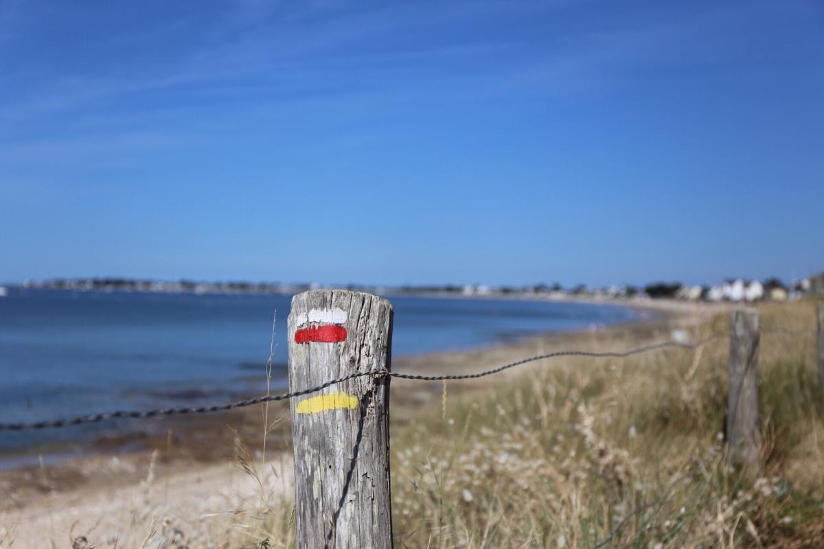 Damgan - beaches, marshes and a peninsula